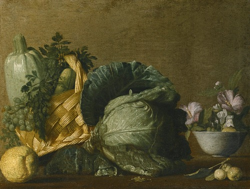 Bernardo Strozzi, natura morte