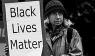 """""""Black Lives Matter"""" Photo by Johnny Silvercloud"""