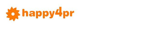 Happy 4 PR flower logo