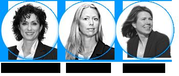 Corinne van Bodegom, Wendy de Jong en Connie Roozen