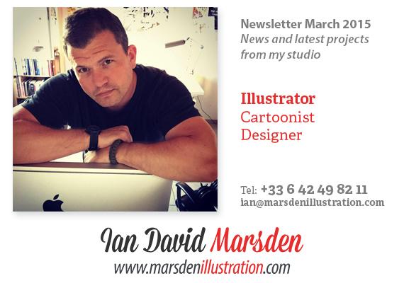 News From Illustrator Ian Marsden