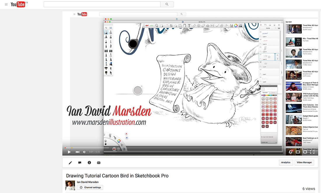 Aktuelle News von Illustrator und Cartoonisten Ian David Marsden