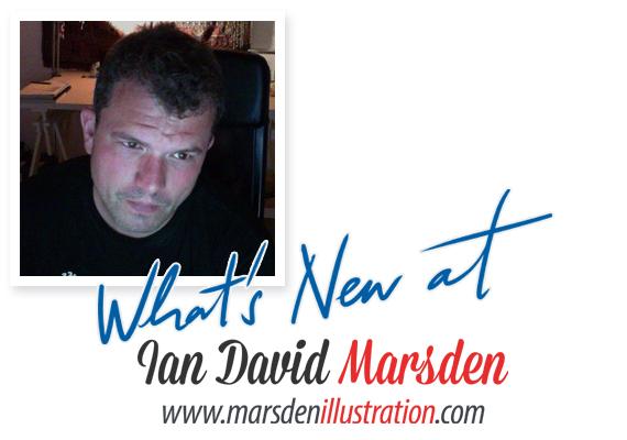 News from Illustrator Ian David Marsden