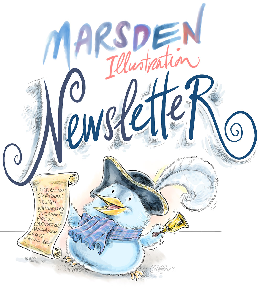 Exciting News and Updates from Illustrator Ian David Marsden