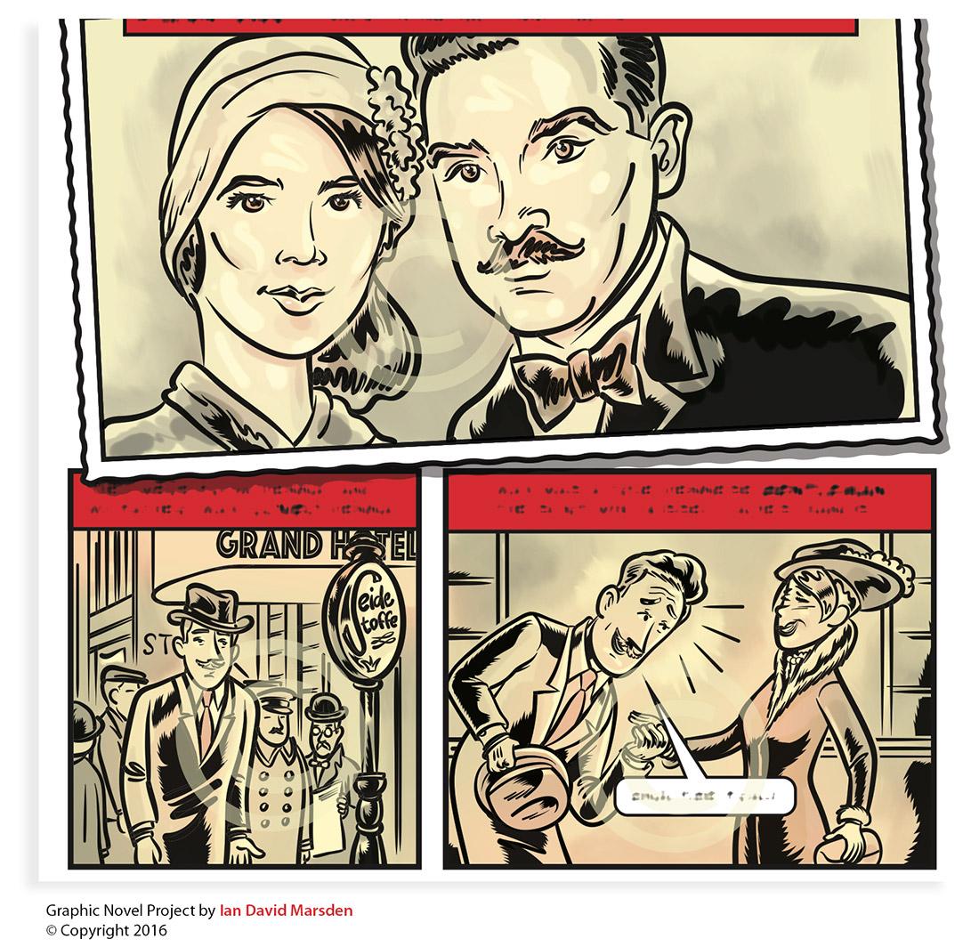 Aktuelle News von Illustrator und Cartoonisten Ian David Marsden