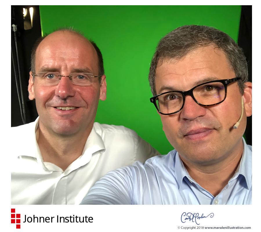 Prof. Dr. Christian Johner and Ian David Marsden