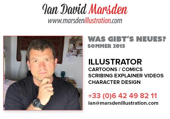 Neues von Illustrator Ian Marsden - Sommer 2015