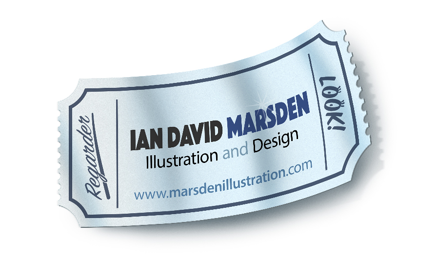Illustration Newsletter July 2016 Ian David Marsden