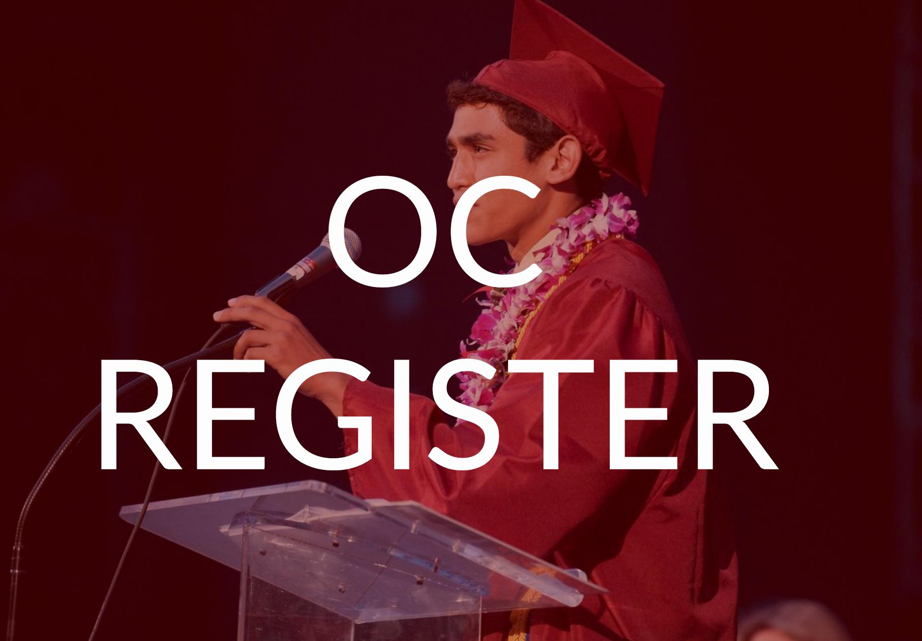 OC Register - Graduation Photos