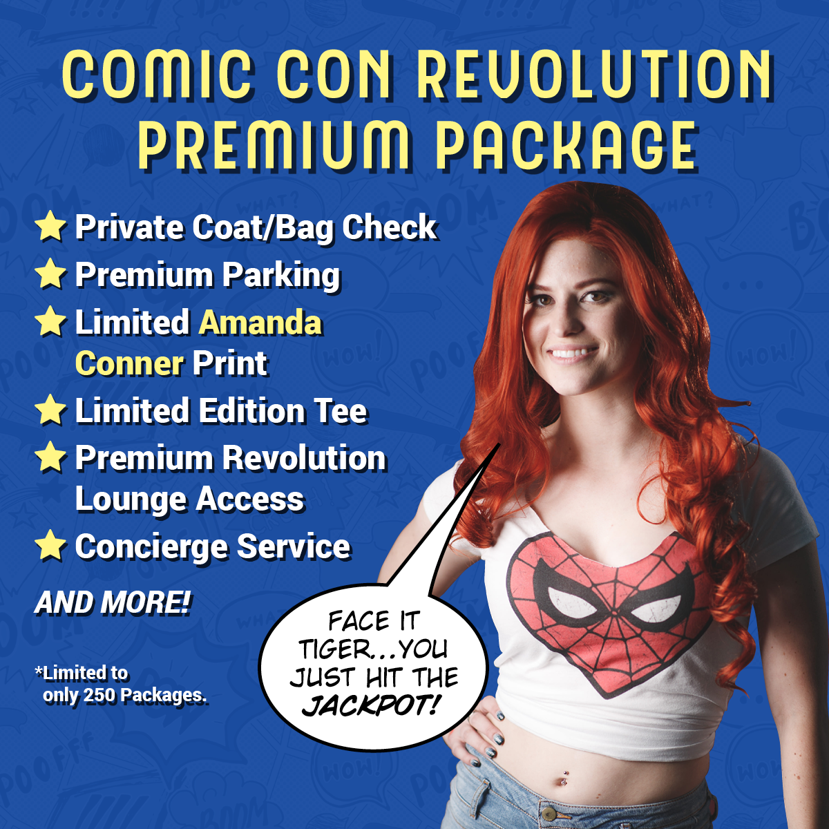 Comic Con Tickets