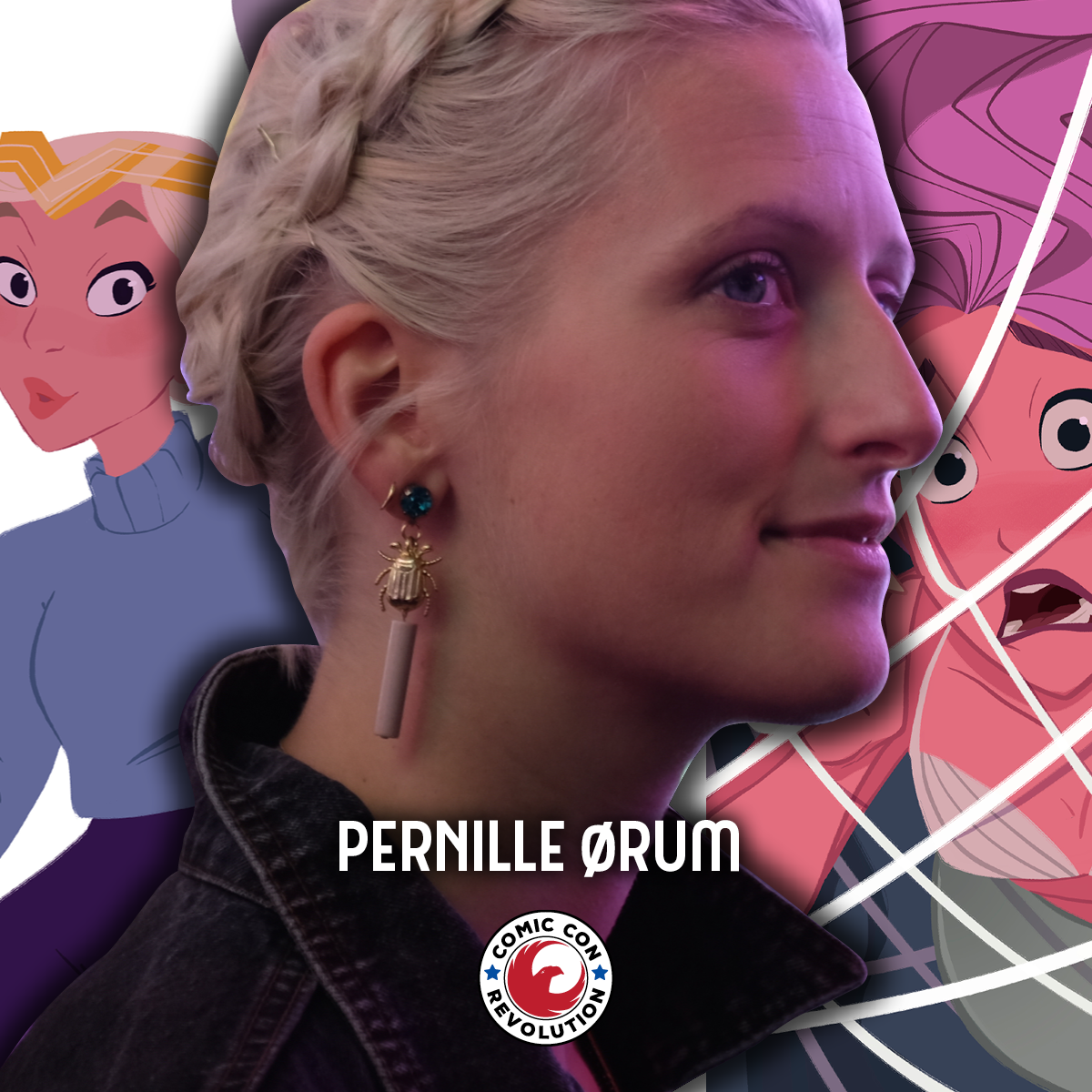 PERNILLE ØRUM - Hitgirl, Designer of DC Super Hero Girls, MerMaids in May