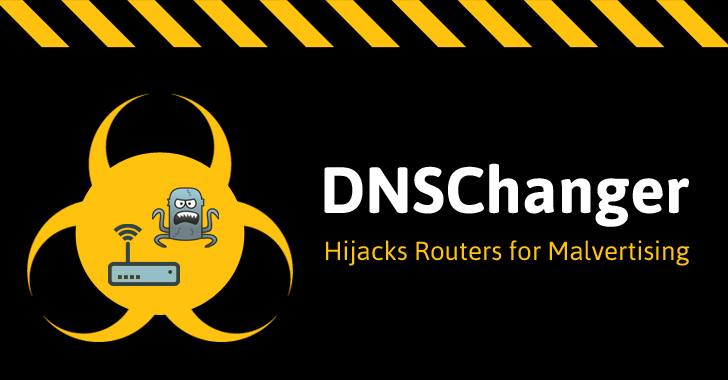 DNSChanger Malware Hijacking Routers