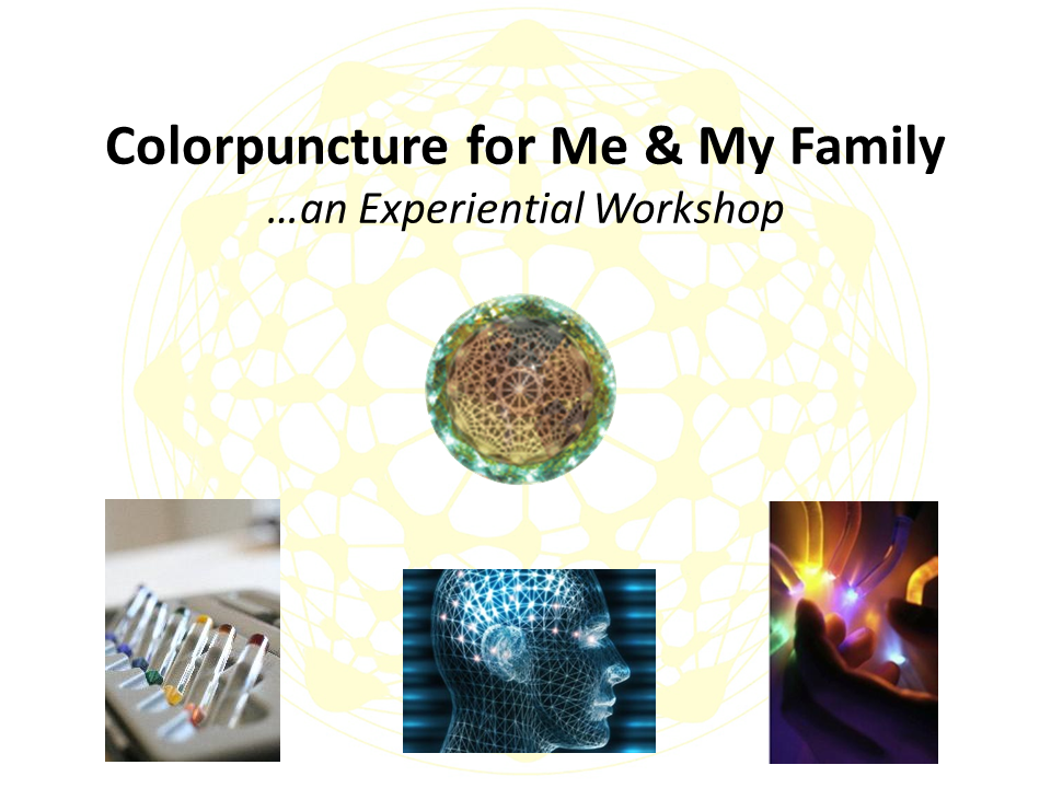 Workshop: Colorpuncture for Me and My Family