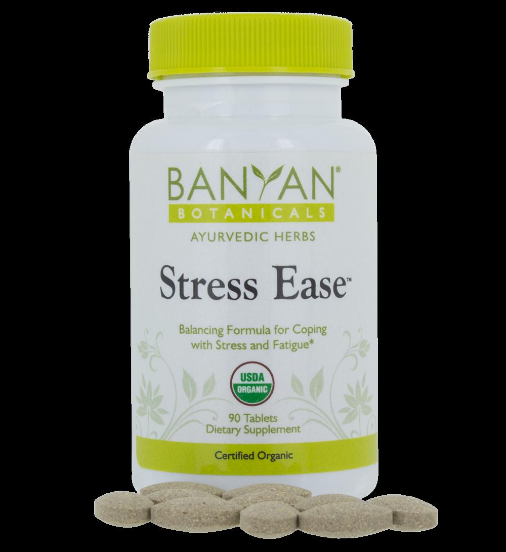 Stress Ease, 90 tabs – Banyan Botanicals