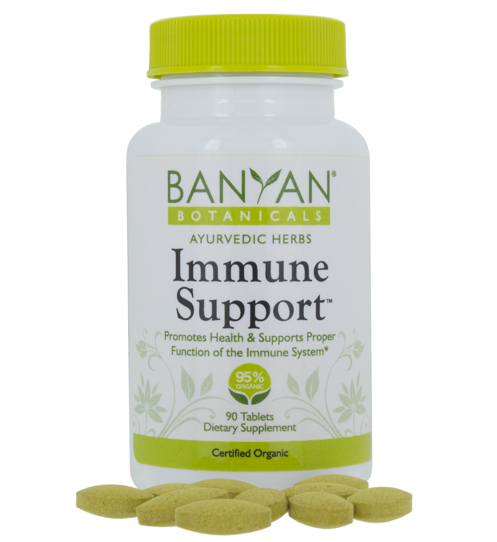 Remedy of the Month: Immune Support 90 tablets, 500 mg – Banyan Botanicals