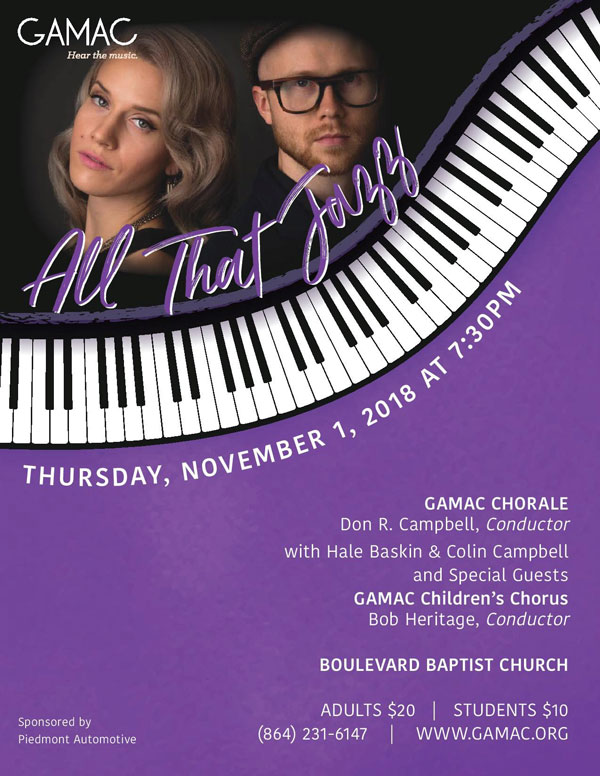 "GAMAC Presents ""All That Jazz"""