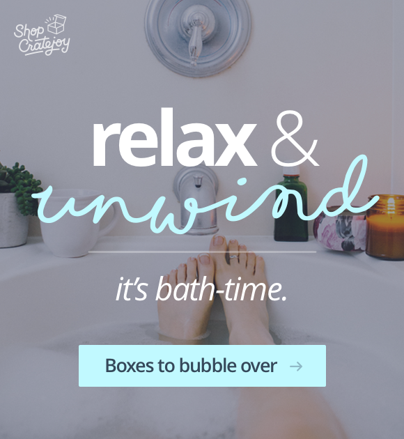 Relax & unwind, it's bath-time. Shop the collection!