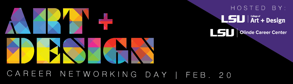 Art + Design Career Networking Day Feb. 20