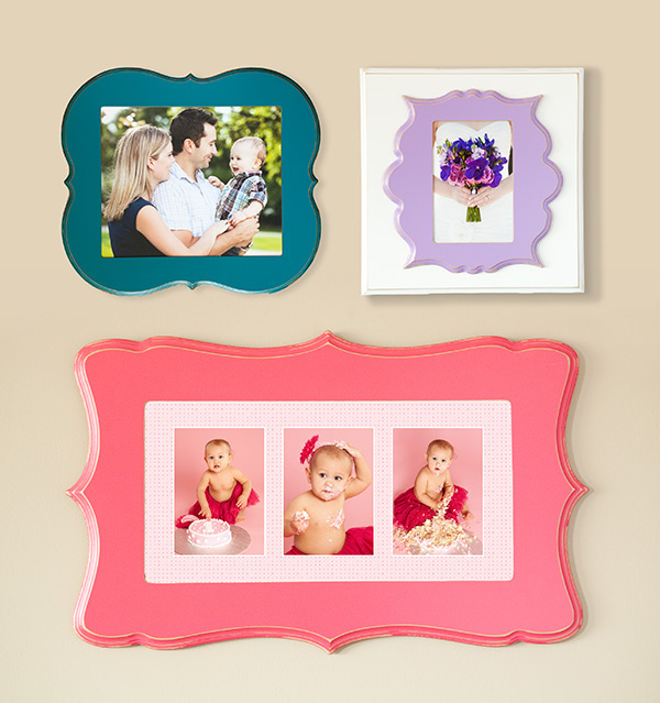 Organic Bloom frames with images by Tara Graham