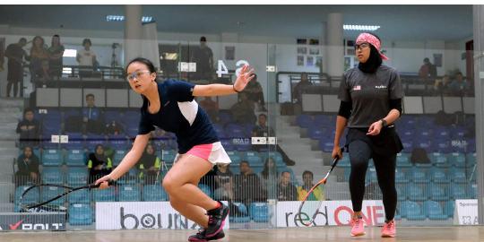 Kirstie at the World Junior Open
