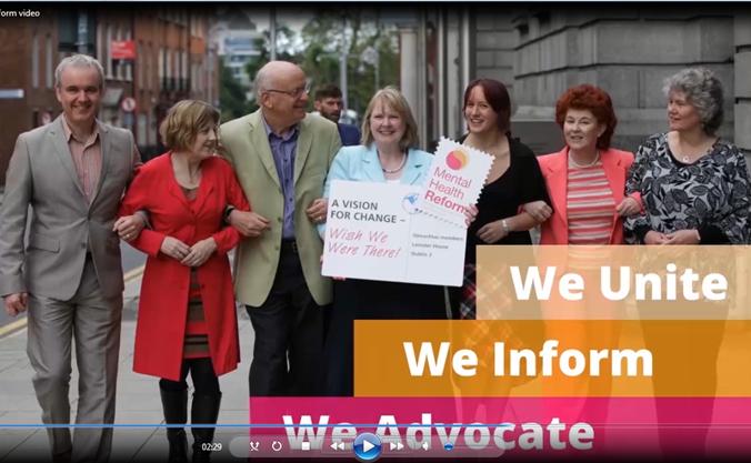 Mental Health Reform video