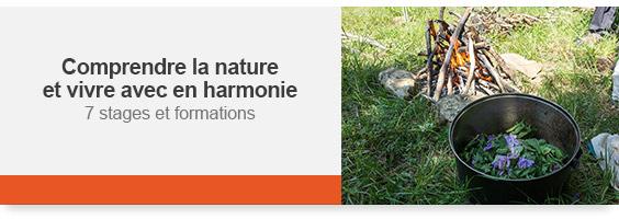 Comprendre la nature et vivre avec en harmonie