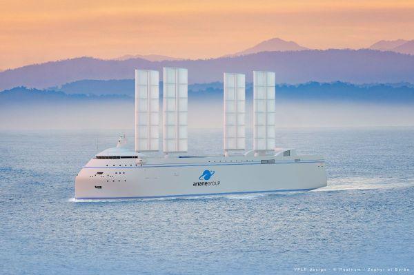 Cargo pour la fusée Ariane avec Oceanwings by Ayro