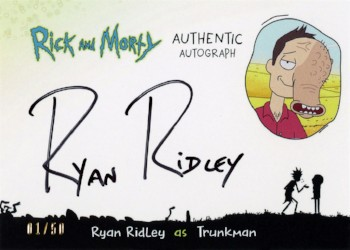 Rick and Morty Trading Cards Season 1 — Convention-Exclusive Pack
