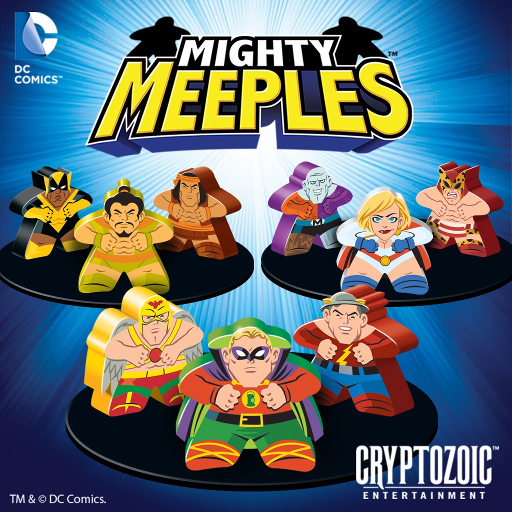 Mighty Meeples DC Comics