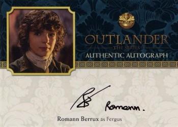 Romann Berrux Autograph Card