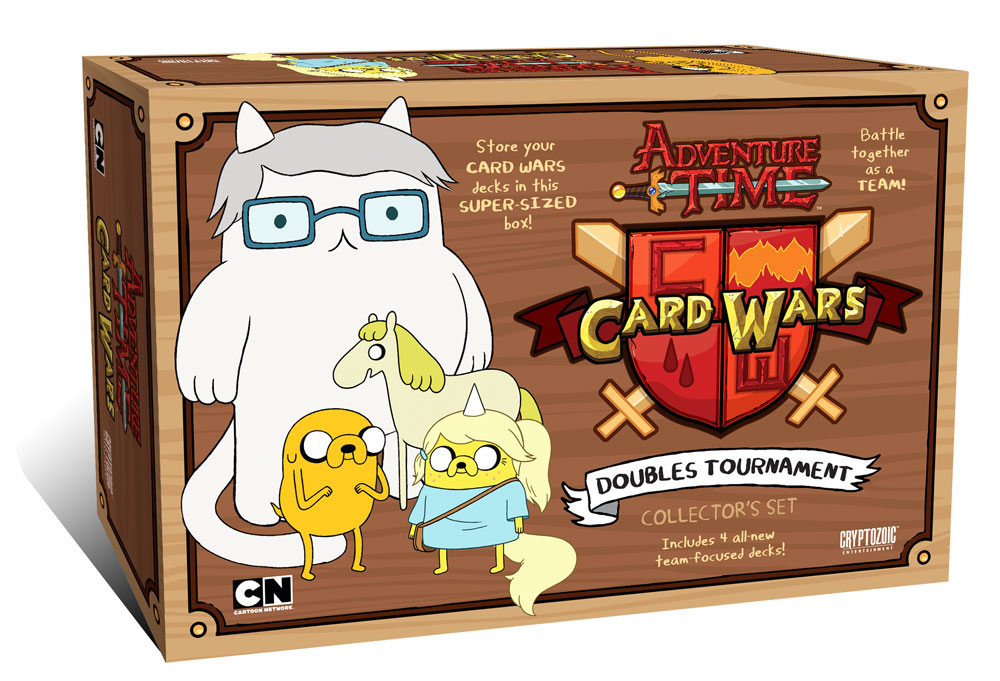 Adventure Time Card Wars Doubles Tournament Cover Art