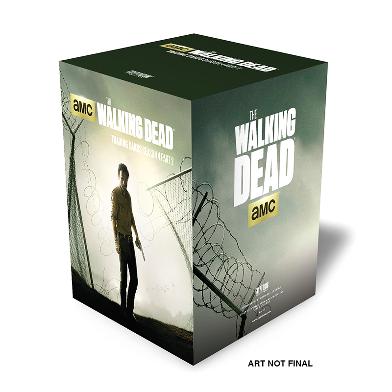 The Walking Dead Season 4, Part 2 Trading Card Photo Set Box