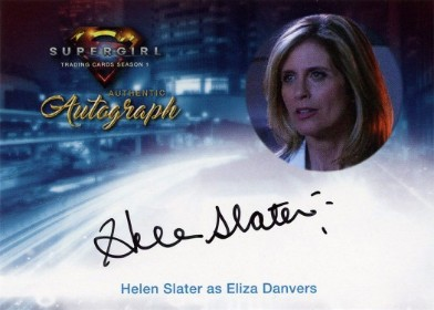 Supergirl Trading Cards Season 1 - Autograph Card - Helen Slater