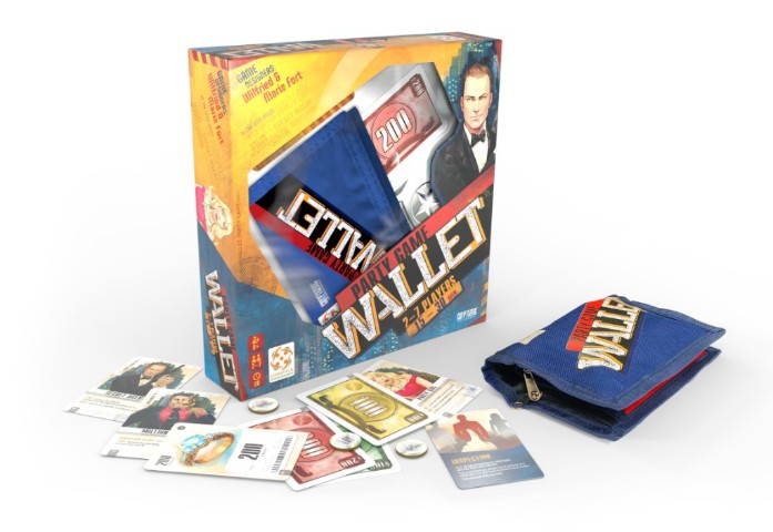 Wallet tabletop game