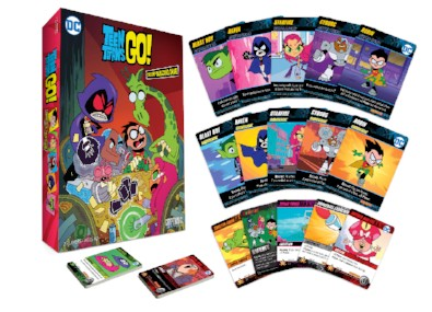Teen Titans Go! Deck-Building Game