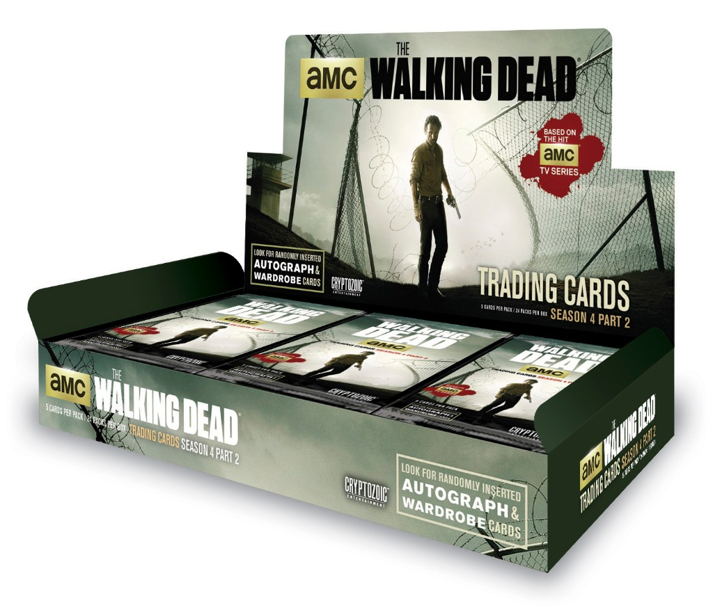 The Walking Dead Season 4, Part 2 Trading Card Box