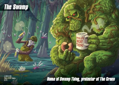 DC Spyfall Promo - The Swamp