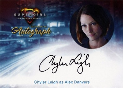 Supergirl Trading Cards Season 1 - Autograph Card - Chyler Leigh