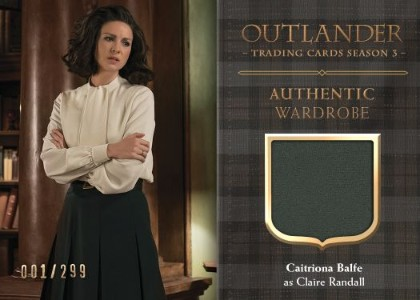 Outlander Trading Cards Season 3 Wardrobe Card CE3