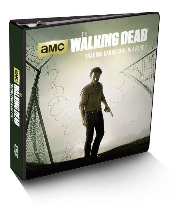 The Walking Dead Season 4, Part 2 Trading Card Binder