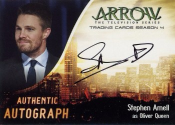 Arrow Trading Cards Season 4-Autograph Card-Stephen Amell