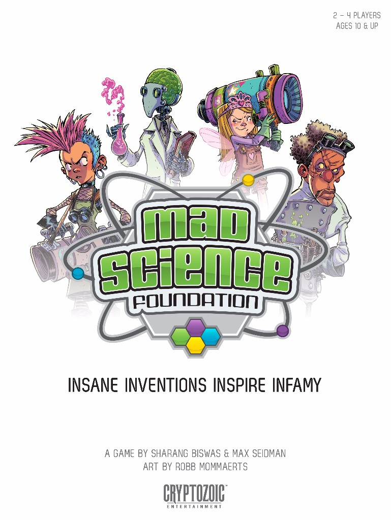 Mad Science Foundation Cover Art