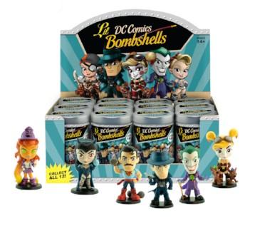 DC Lil Bombshells vinyl figures Series 3
