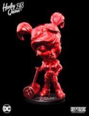Metallic Red 25th Anniversary DC Lil Bombshells Harley Quinn Vinyl Figure