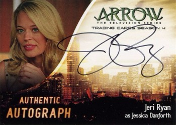 Arrow Trading Cards Season 4-Autograph Card-Jeri Ryan
