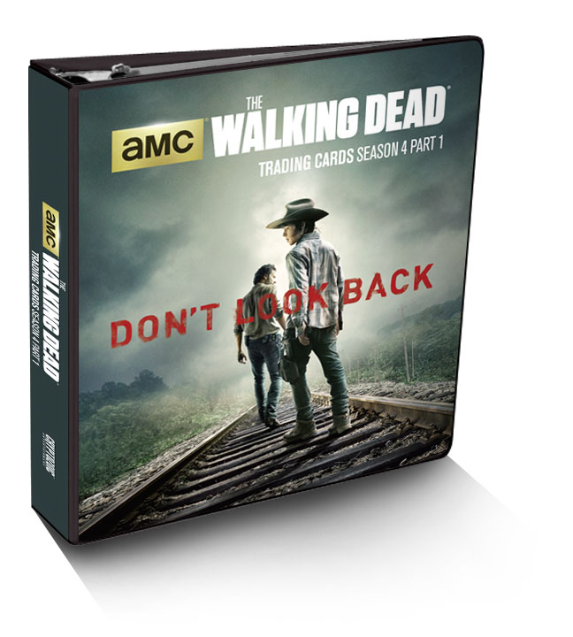 The Walking Dead Trading Cards Season 4 Part 1 Binder