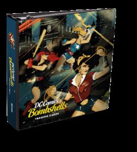 DC Bombshells Trading Cards - Binder