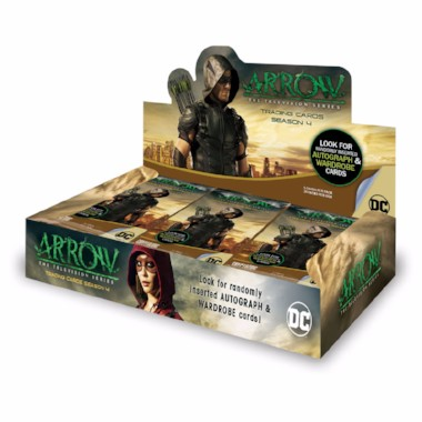 Arrow Trading Cards Season 4 - hobby box