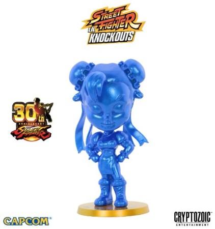 Metallic Blue Chun-Li