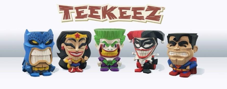 DC Teekeez vinyl figures